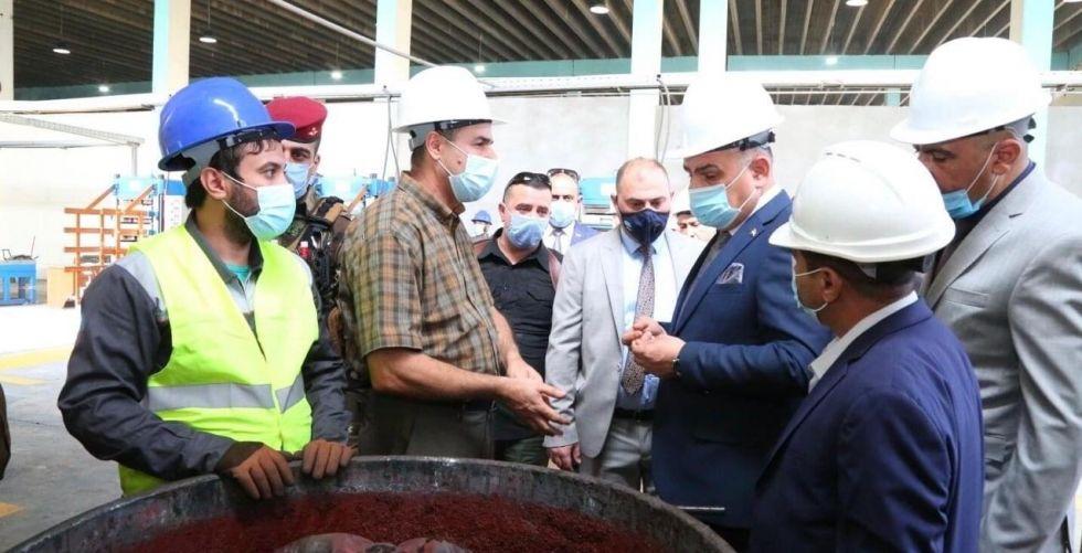 افتتاح مشروع «تدوير الإطارات المستهلكة» في الديوانيَّة