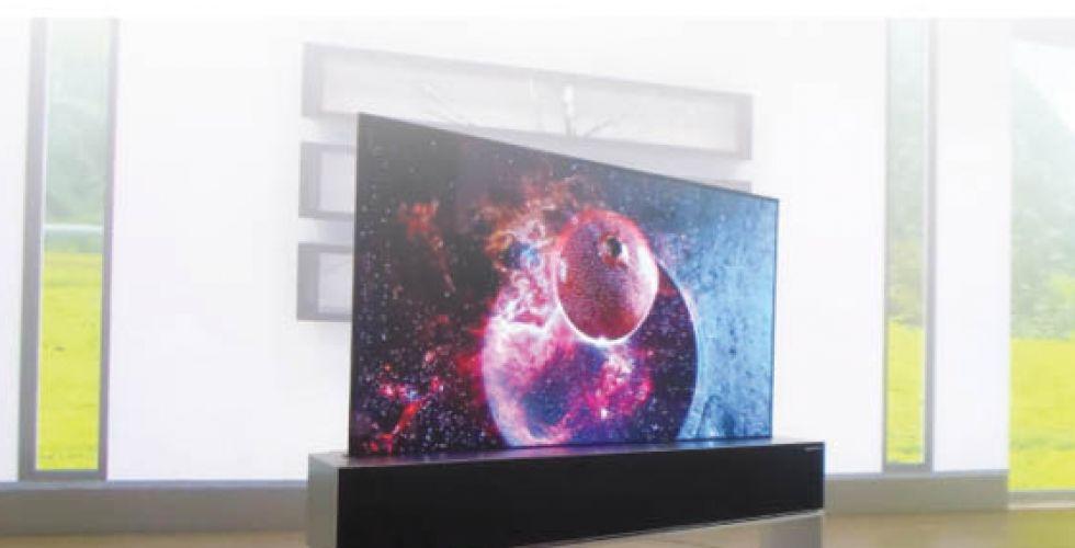 «LG»: إطلاق أول تلفاز بشاشة قابل للف