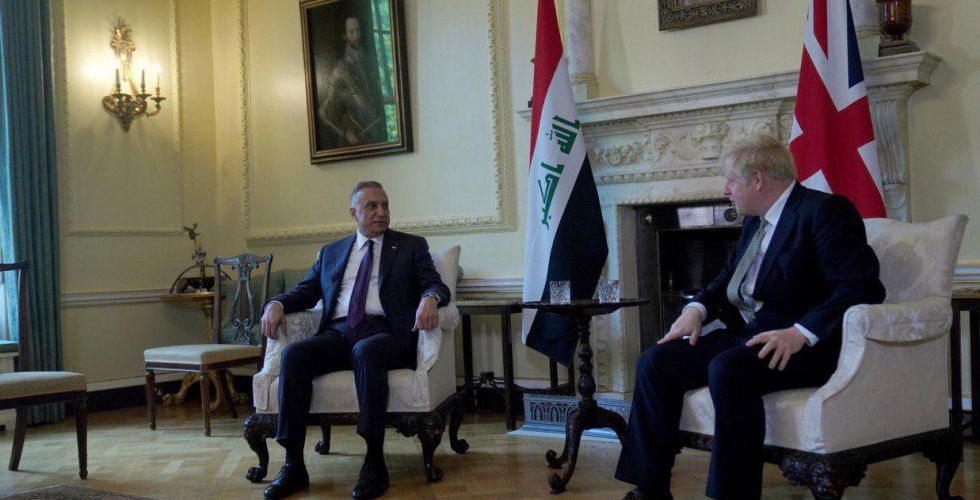 Al-Kazemi and Johnson agree to proceed with the strategic cooperation between Iraq and Britain