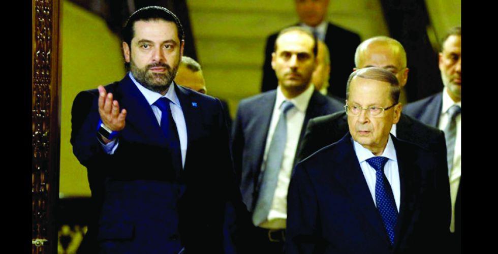 سعد الحريري يبدأ مشوار تشكيل الحكومة اللبنانية