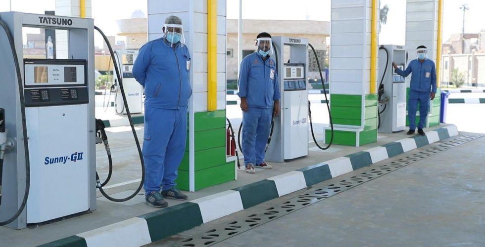 افتتاح محطة حديثة لتعبئة الوقود في الحسينية
