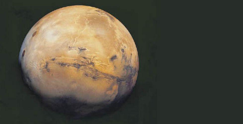{كوكبة ستارلينك} حول المريخ