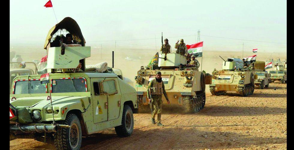 قواتنا تستمكن خلايا داعش في بغداد وتدمر 8 أوكار في كركوك