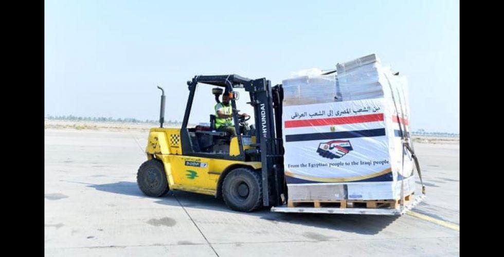 مساعدات طبيَّة مصرية للعراق