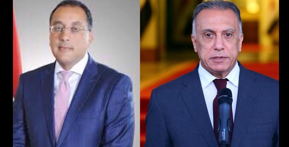 الكاظمي ومدبولي يرأسان الاجتماع العراقي المصري