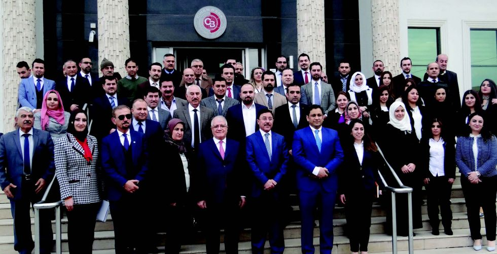«Cihan» appreciates the visit of the Central Bank and the Association of Private Banks to its headquarters in Erbil Alsabaah-5354