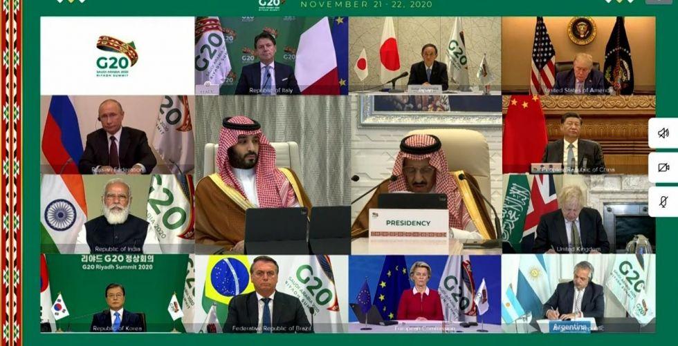قمة العشرين تبحث عالم {ما بعد الجائحة»