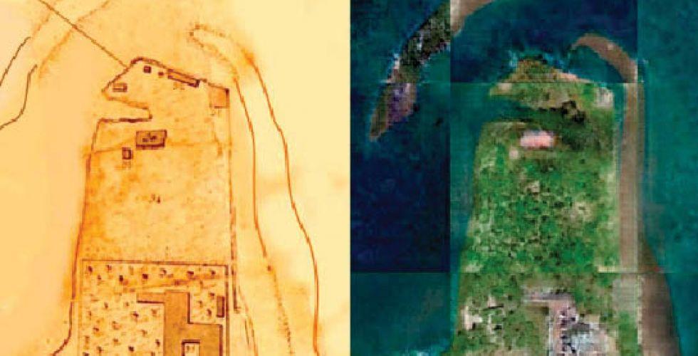 تحويل الخرائط القديمة الى صور  أقمار صناعيَّة