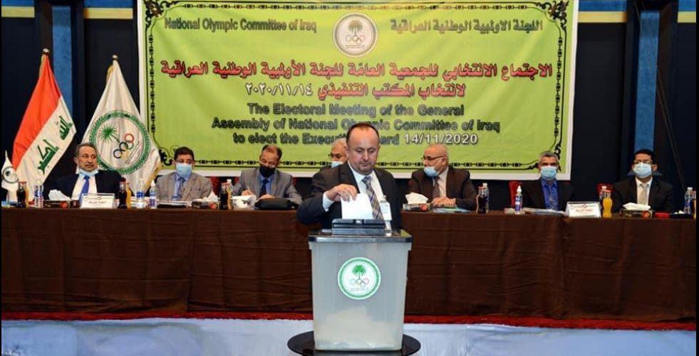تنفيذي الأولمبية يناقش رسالة «الدولية»