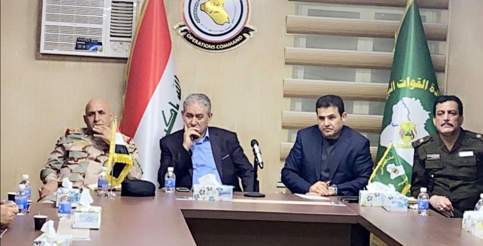 فريق أزمة الطوارئ يتسلم مهامه في الناصرية