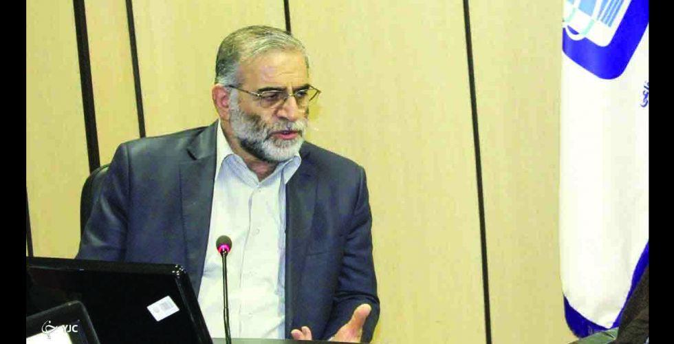 طهران تتهم أجهزة مخابرات دولية باغتيال محسن زاده