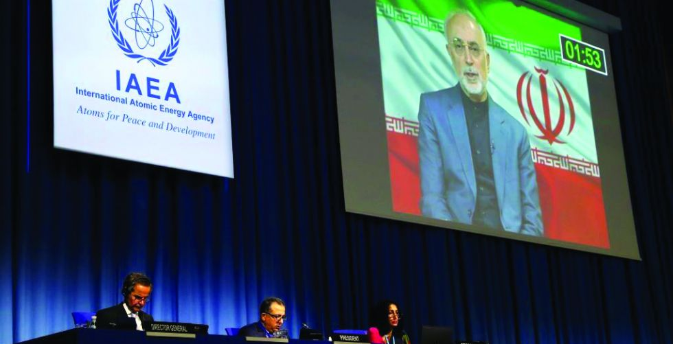 "Tehran is following up on the leakage of a ""secret report"" to the IAEA"