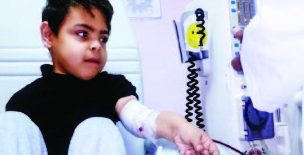 مستقبل أطفال متوقف على توفير (إبرة) في المستشفيات