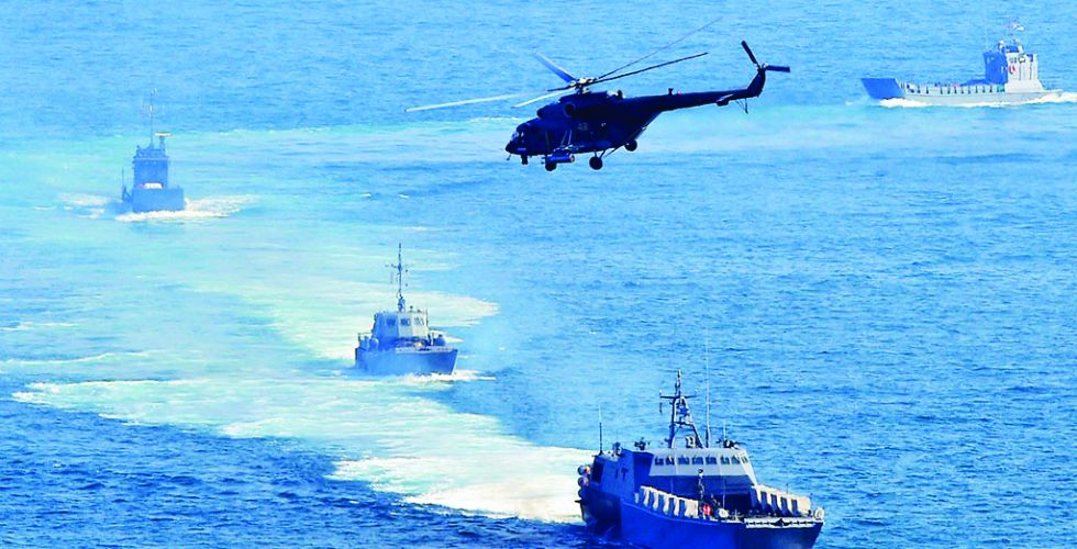 انطلاق أضخم مناورات إيرانيَّة في بحر عمان والمحيط الهندي