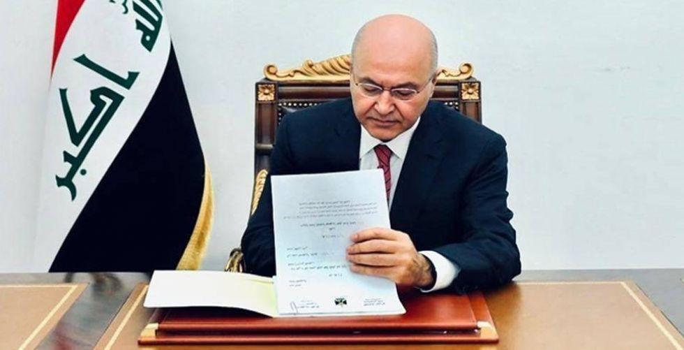 العراق ينضم إلى اتفاق باريس للمناخ