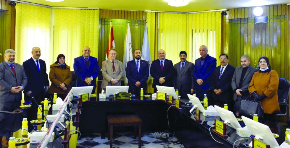 اتفاقية تعاون بين جامعتي بغداد  والتكنولوجية