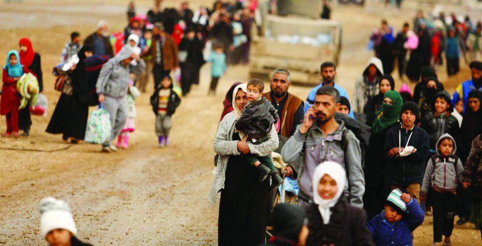 بعد عودة النازحين من المخيمات ..الجانب الأيسر من الموصل والكثافة السكانية المتزايدة