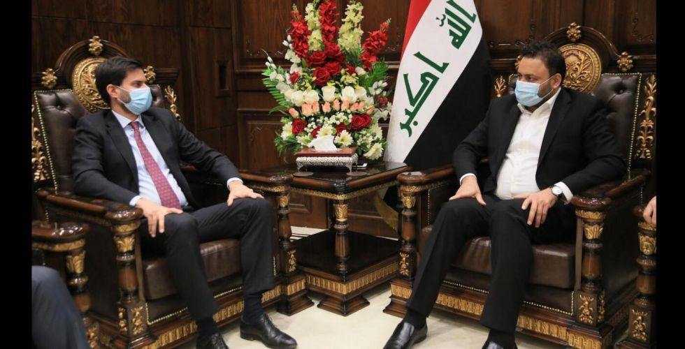 الكعبي يحثّ الشركات الفرنسية على الاستثمار في العراق