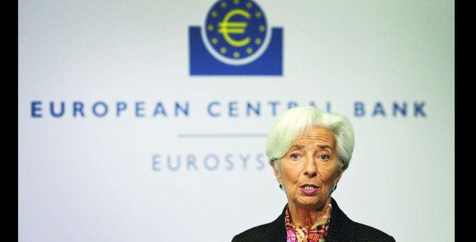البنك الأوروبي يبقي  على سياسته النقدية