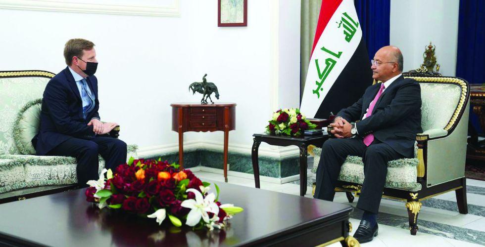 رئيس الجمهورية: ندعم فرض القانون وحماية أمن وحياة المواطنين