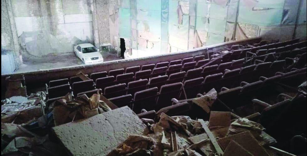دور السينما في الناصرية.. أمكنة خاوية غادرها الجمال والمرح وتحولت إلى هياكل متآكلة