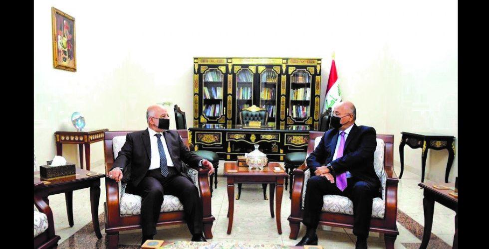 صالح والعبادي يؤكدان أهمية حفظ أمن وسلامة المواطنين