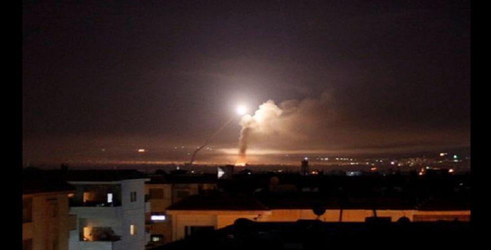 الدفاعات السورية تتصدى لعدوان صاروخي