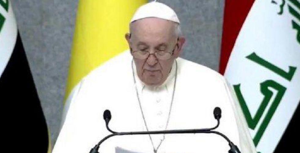 البابا فرنسيس: ممتن لفرصة المجيء إلى العراق مهد الحضارة
