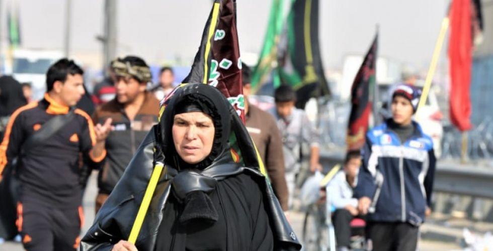 """بغداد تتشحُ بالسواد في ذكرى استشهاد الإمام الكاظم """"ع"""""""