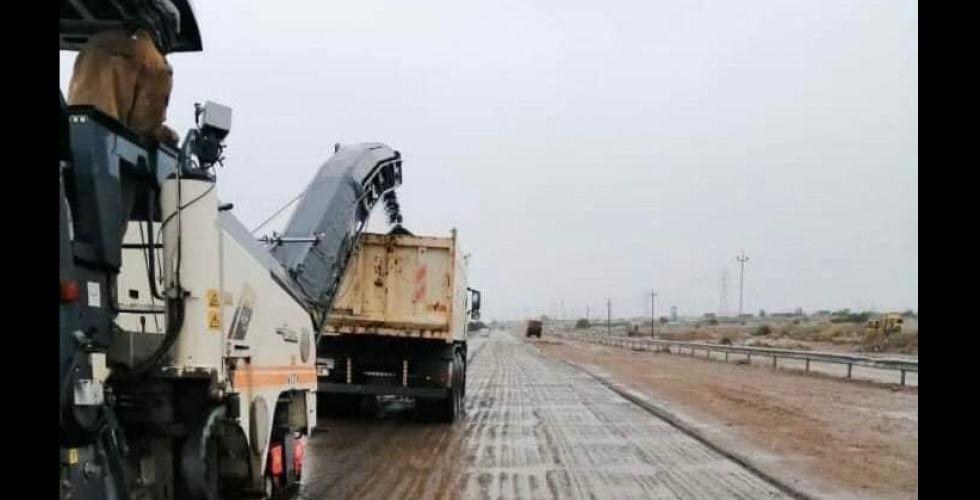 تأهيل طريق «بغداد ـ موصل»