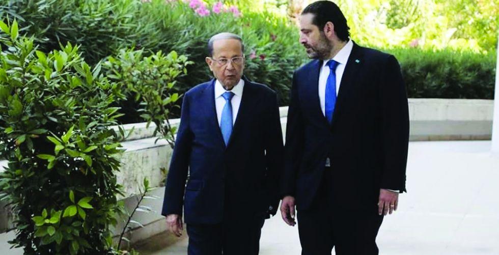 الرئيس اللبناني يصف الحريري بـ {غريب الأطوار}