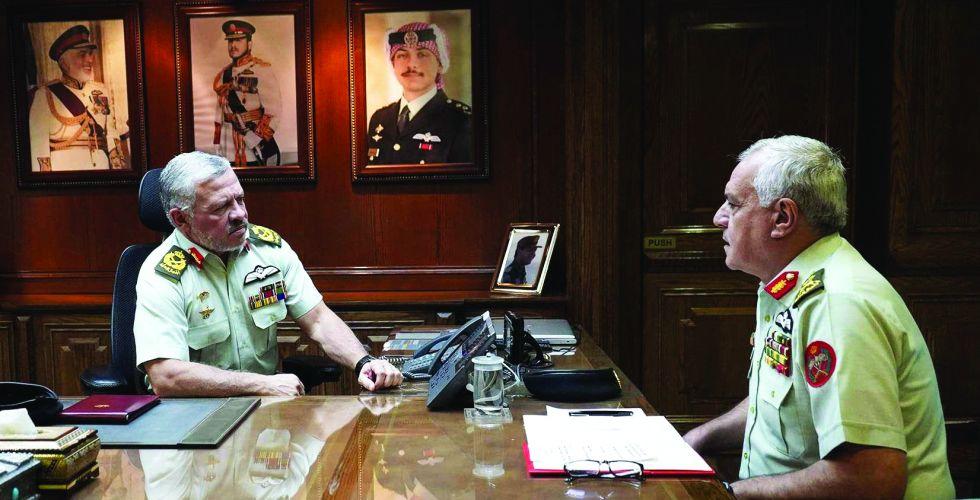 تضامن عربي ودولي مع إجراءات ملك الأردن