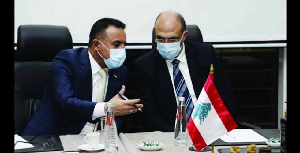 العراق يوقع اتفاقية صحية مع لبنان