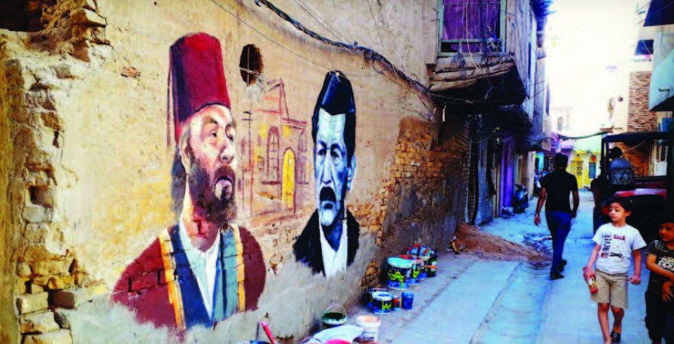 علي خليفة.. رسام الأزقة البغداديَّة القديمة