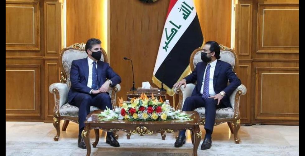 نيجيرفان بارزاني يناقش في بغداد ثلاثة محاور