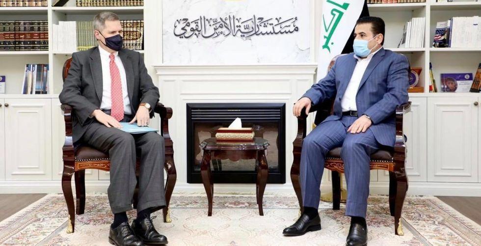 قاسم الأعرجي يبحث مع السفير الأميركي ملف مخيم الهول الحدودي
