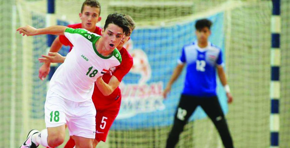 مباراة تفصل صالات العراق  عن كأس العالم