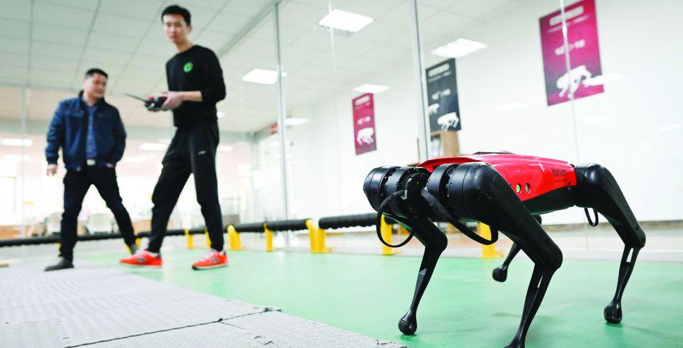 «ألفا دوغ».. الروبوت الأسرع في العالم