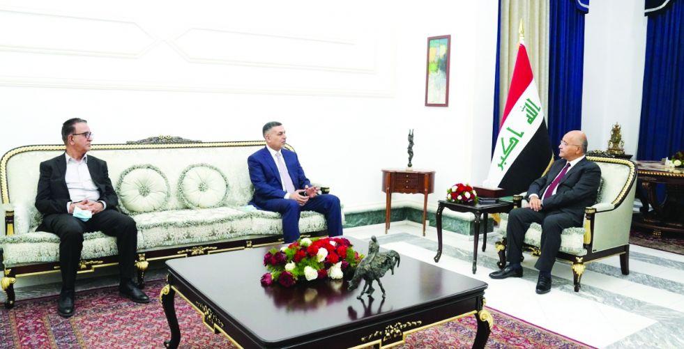 برهم صالح: لا بديل عن تعزيز سيادة القانون