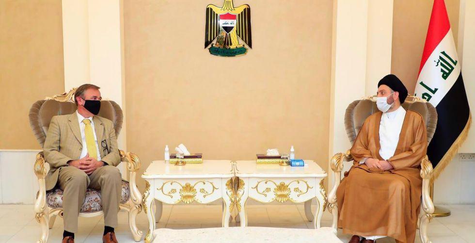 عمار الحكيم يلتقي سفير المملكة الهولندية