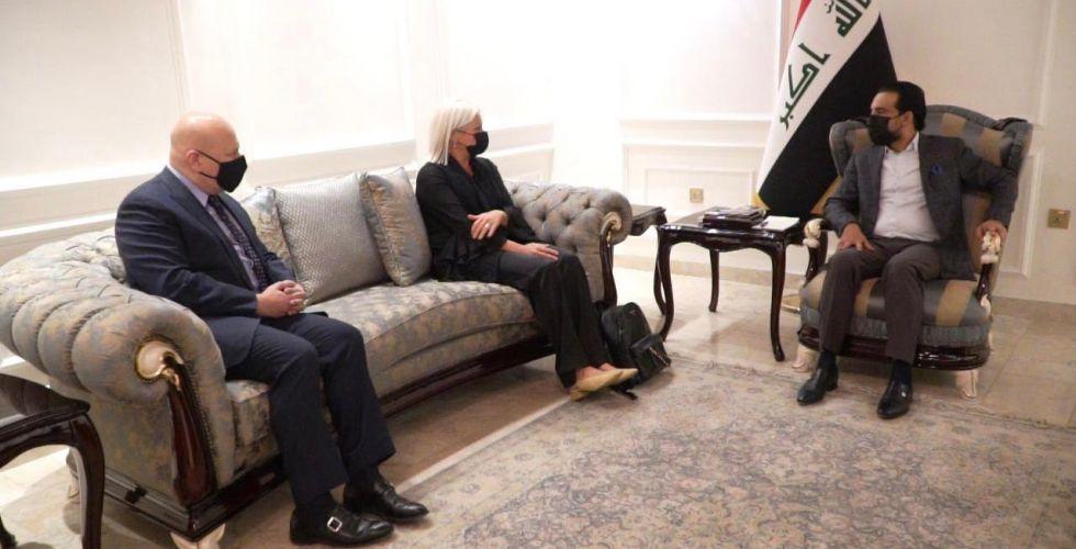 الحلبوسي وبلاسخارت يبحثان سنّ القوانين ضد {داعش}