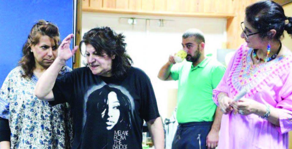 الفنانة أحلام عرب: فيروس كورونا  اوقف مشاريعي