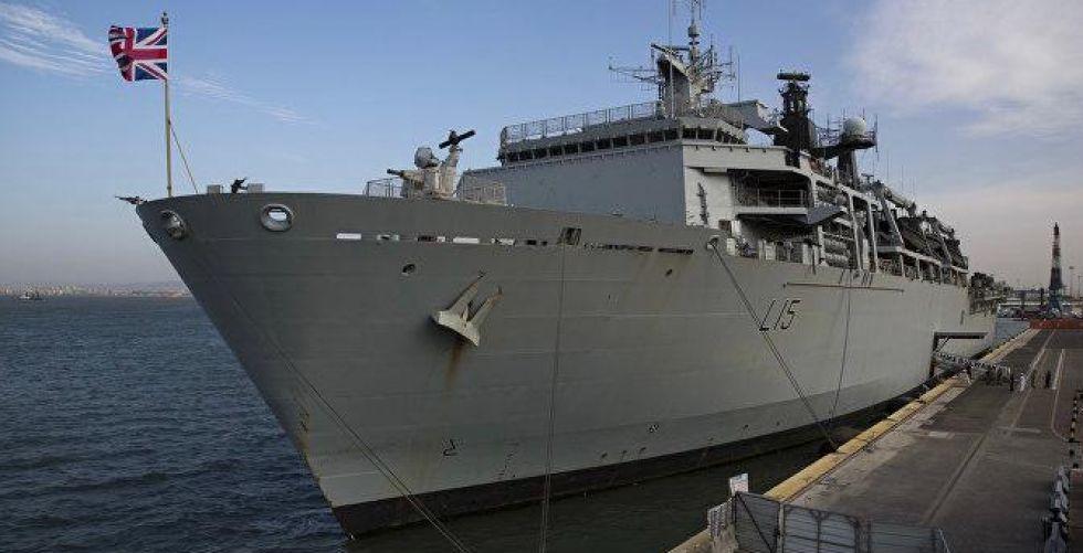 سفن حربية بريطانية  في البحر الأسود لدعم أوكرانيا