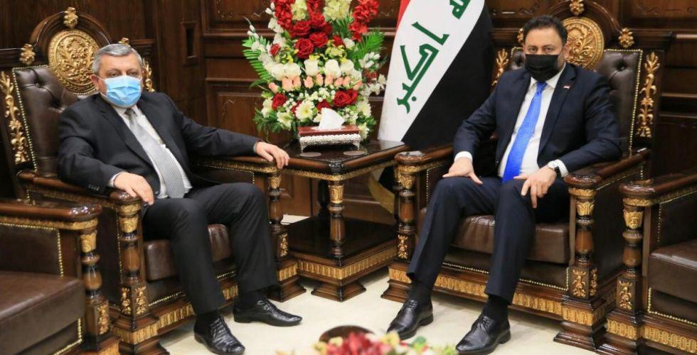 حسن الكعبي يلتقي سفير جمهورية أرمينيا