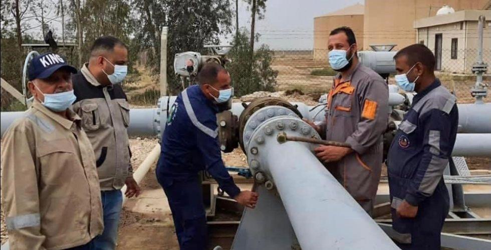 النفط تُنجز مشاريع حيويَّة لصالح المحطات الكهربائيَّة