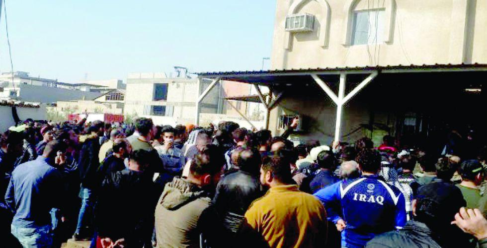 محافظة بغداد ترفض إعادته الى العمل رغم  صدور أمر بإعادة تعيينه