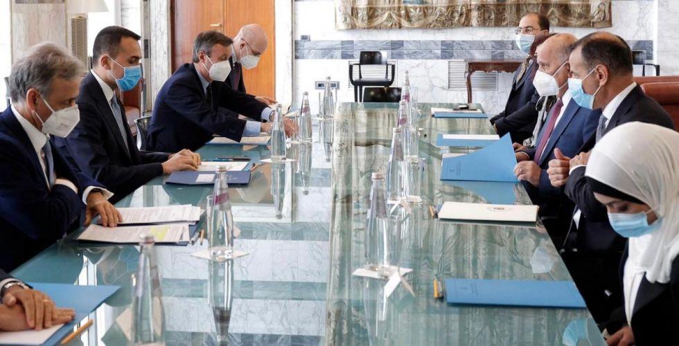 الكاظمي يدعو رئيس وزراء إيطاليا  الجديد لزيارة بغداد