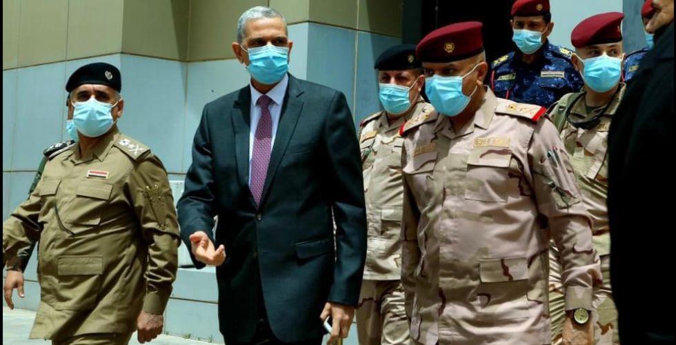 عثمان الغانمي في كركوك للحد من الخروقات وتأمين آبار النفط