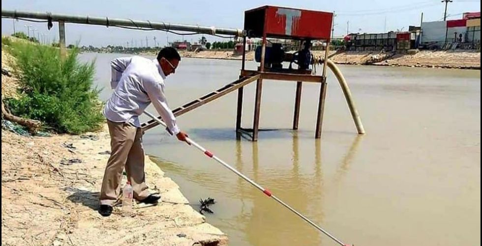 إجراءات للحد من تلوث مياه كركوك وميسان