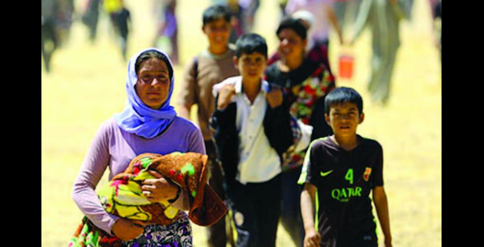 فريق التحقيق الدولي:  جرائم داعش ضد الايزيديين  «إبادة جماعية»